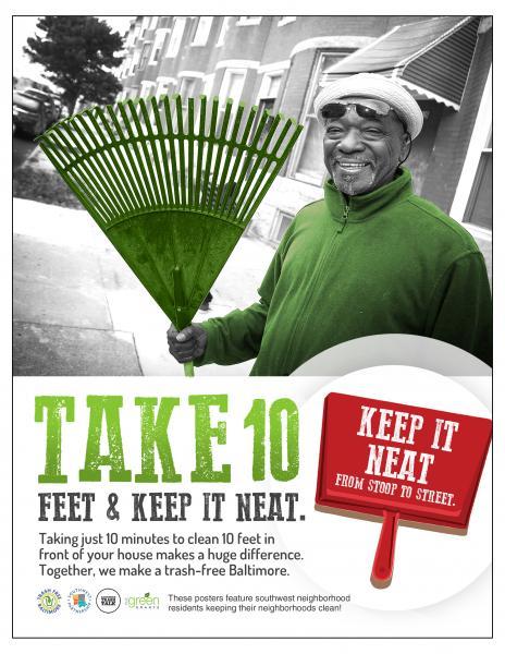 Take 10 Feet and Keep it Neat