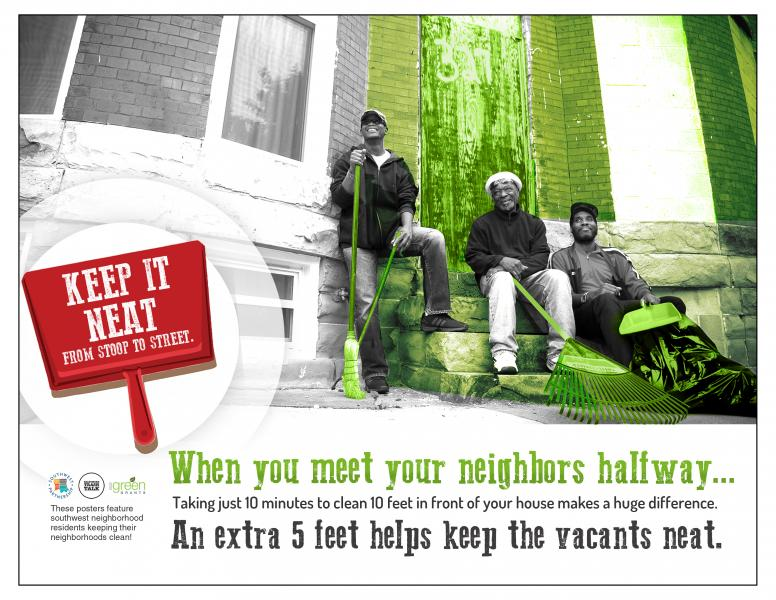 Keep it neat - Care for Our Vacants