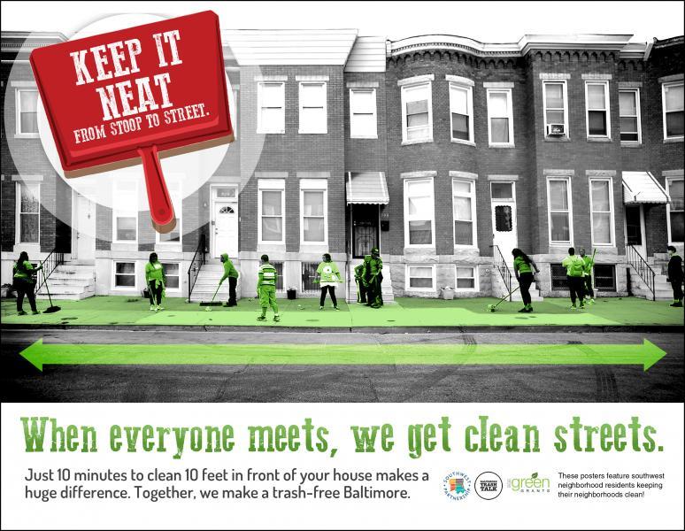Keep it neat - When Everyone Meets (Street Scene)