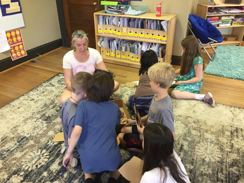 Ocean Mandala - Meeting with classes