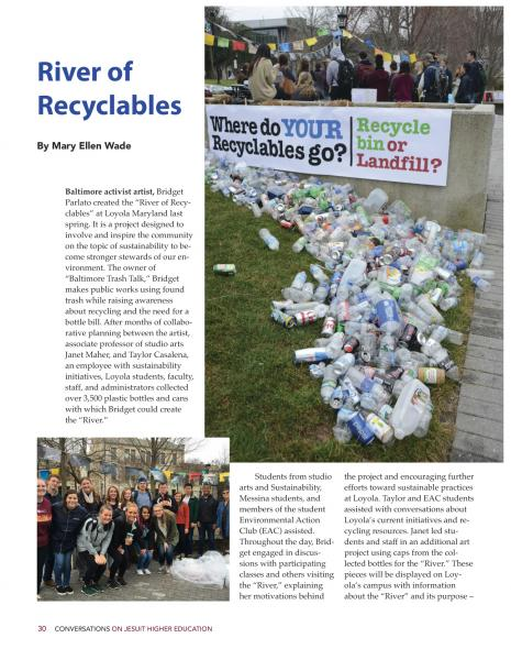 Parlato BTT River of Recyclables - (featured in Loyola Magazine).jpg