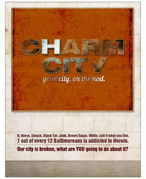 Parlato Poster 3- Charm City / H City