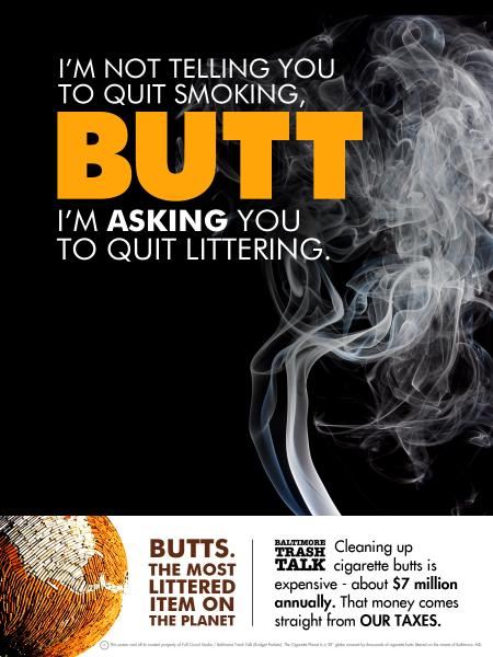 I'm Not Telling You To Quit Smoking...