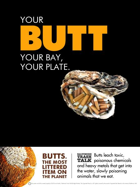 Your Butt, Your Bay, Your Plate...