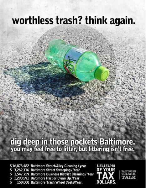 Poster - Worthless Trash? Think Again.