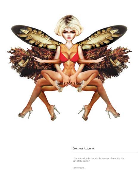 Digital Collage - Predators or Prey - Cinaedius Illecebra