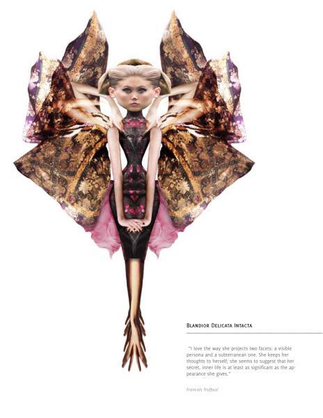 Digital Collage - Predators or Prey - Blandior Delicata Intacta