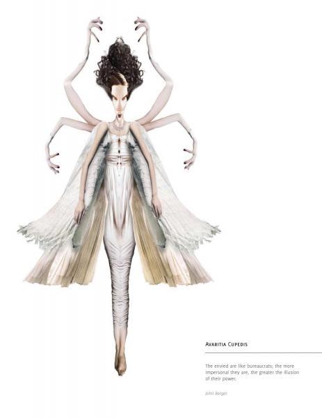 Predators or Prey - Avaritia Cupidis - digital collage