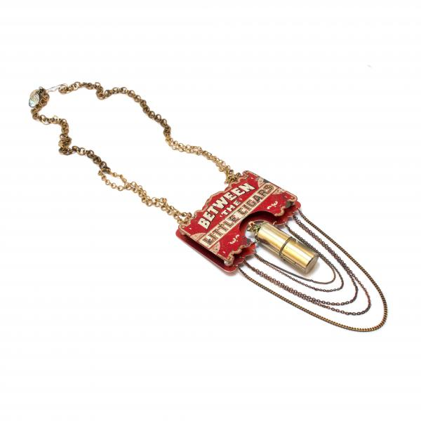 """Finding Mr. Right (Between the Little Cigars"""") Necklace"""