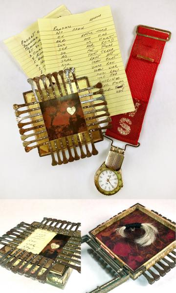 Reliquary for My Father - back and interior.
