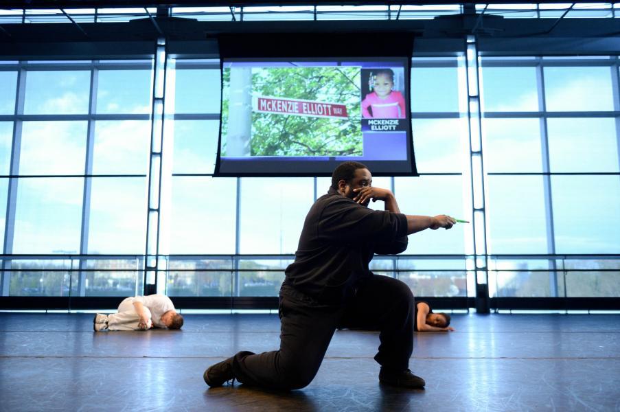 Baltimore, Violence, Community, African American art, dance, Guardian, Breai Mason-Campbell