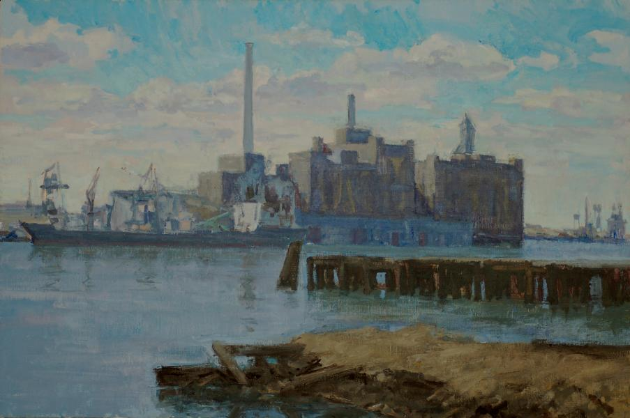 Domino Sugar From Fells Point