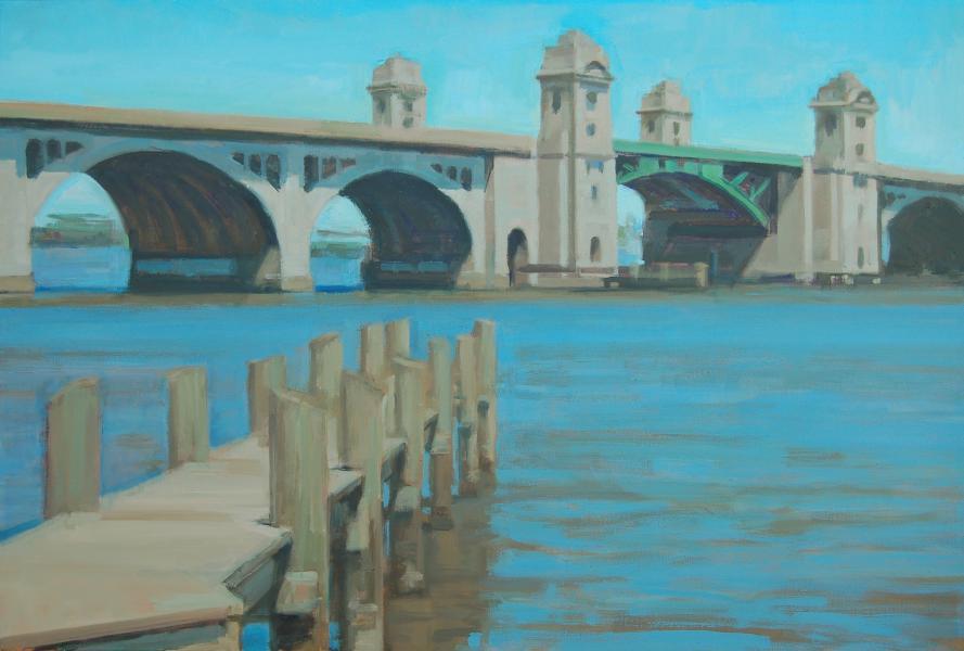 Hanover Bridge Morning Sun