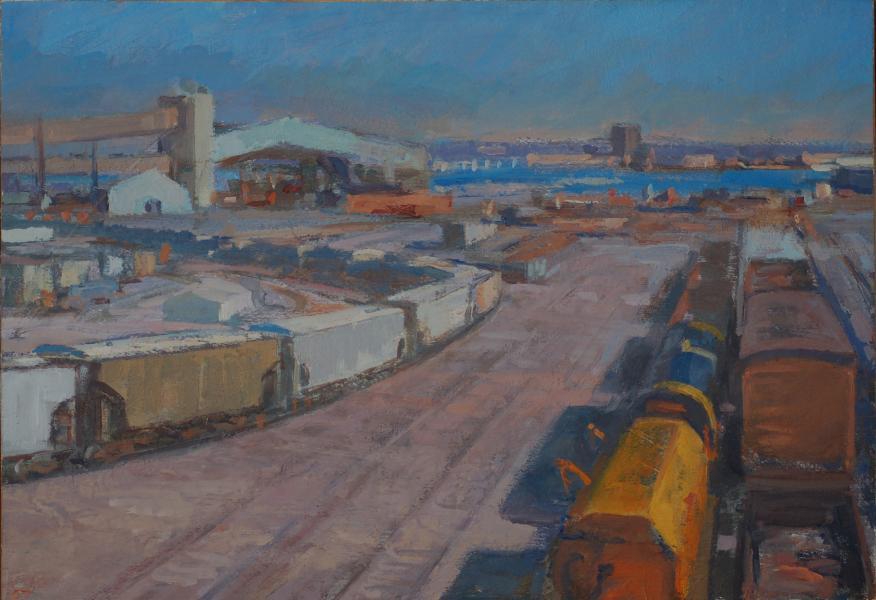 Locust Point Railyard