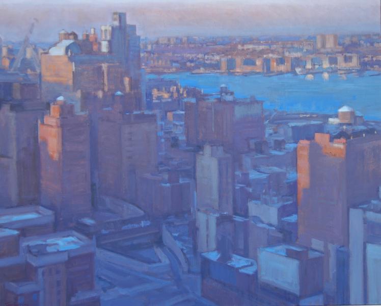 Mid-town Manhattan Winter Sunrise