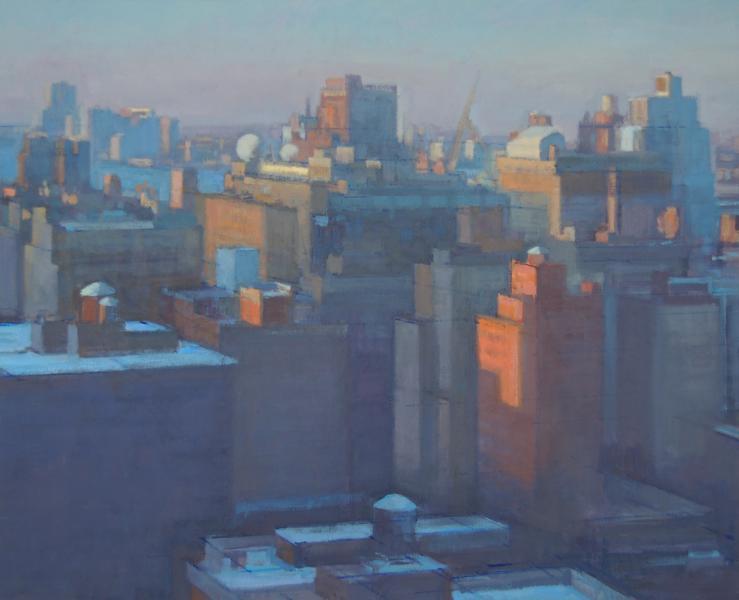 Midtown Manhattan Winter Sunrise