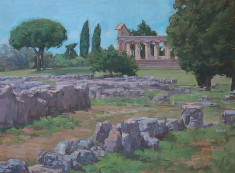 Paestum Looking North
