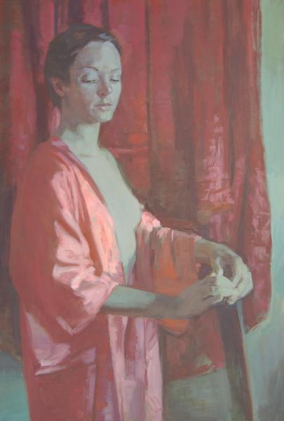 Portrait with Red Robes