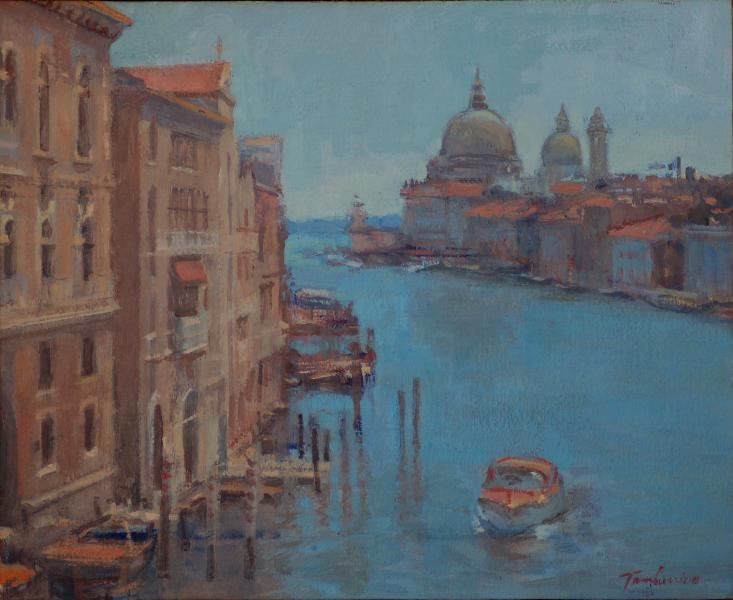 Venice Grand Canal Looking East