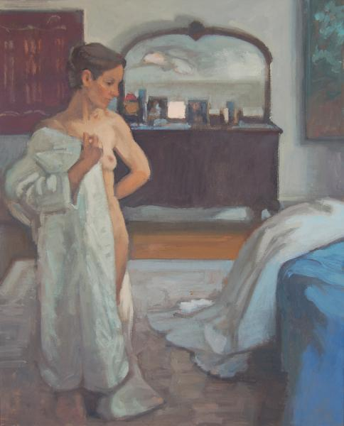 Woman with White Robe