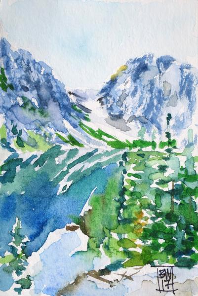 Aasgard Pass Painting