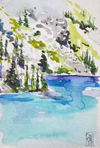 Camping at Colchuck Lake