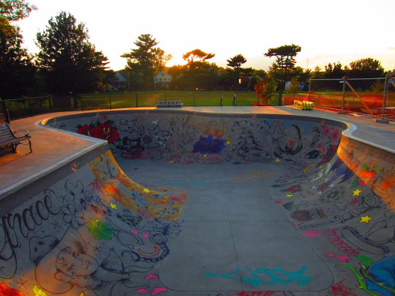 skatebowl sunset magic