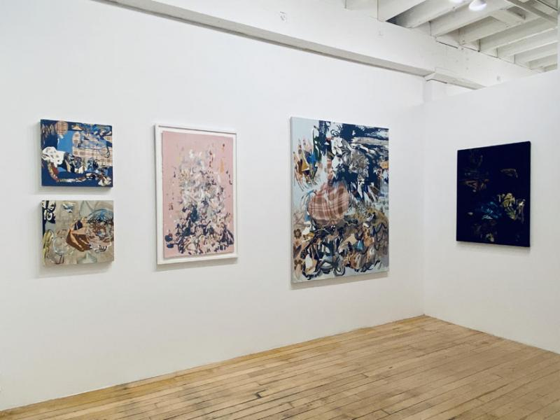 exhibition, painting