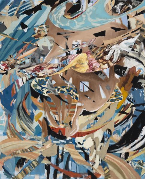 mixed-media on canvas