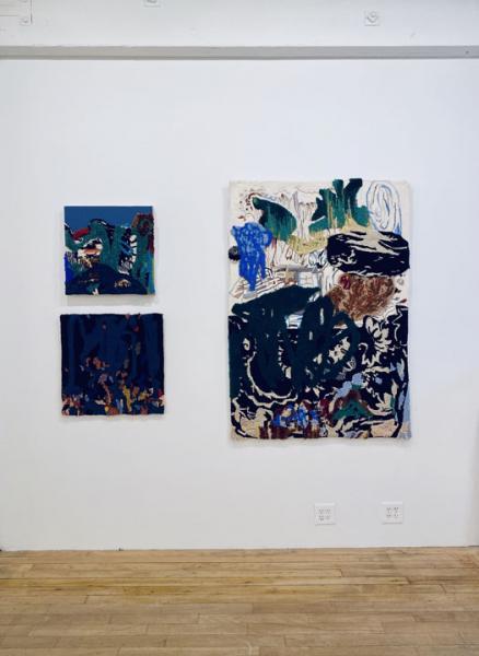 textile art painting exhibition