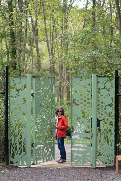 2019 Nature Walk Gate