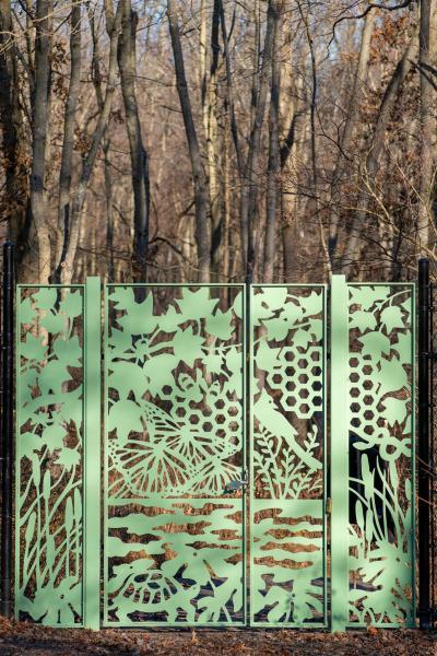 2019 Nature Walk Gate - winter