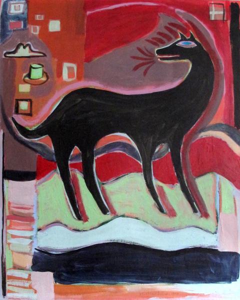 Mathias - Black Dog with Hats