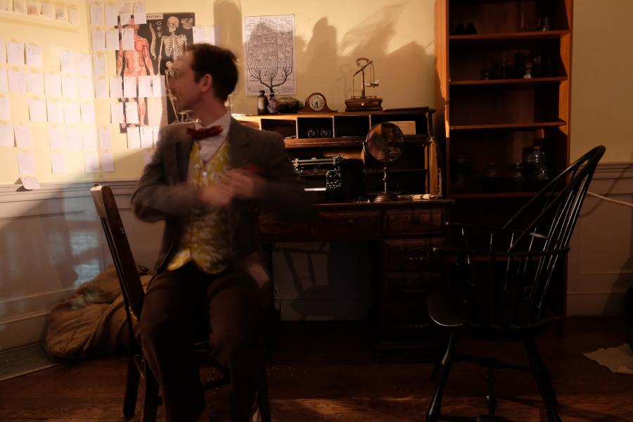 Percy's Desk