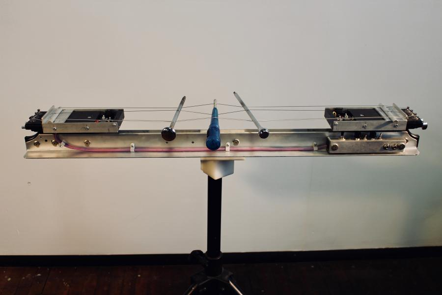 experimental musical instruments, Neil Feather