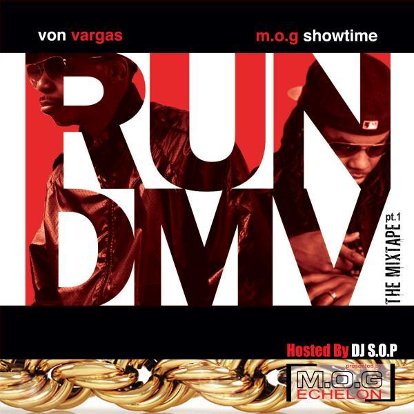 Von Vargas RUNDMV Album Artwork