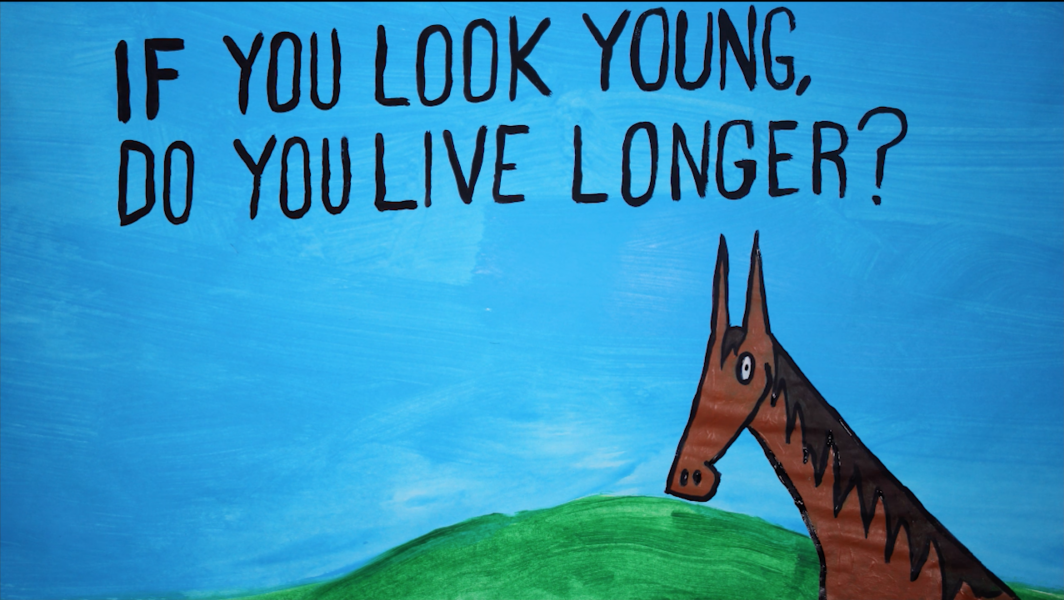 If you look young, do you live longer? asked by a horse