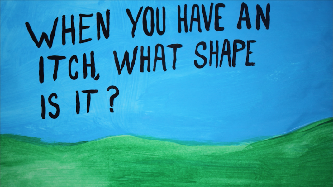What shape is your itch?