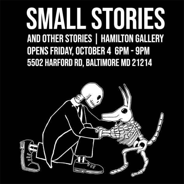 Small Stories and Other Stories show graphic