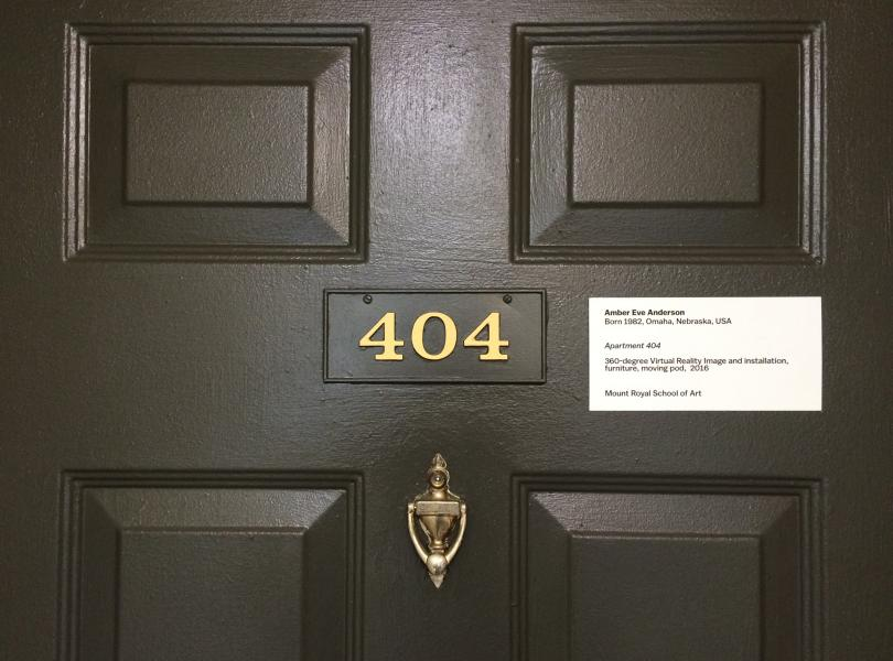 Superior Doorway To Apartment 404