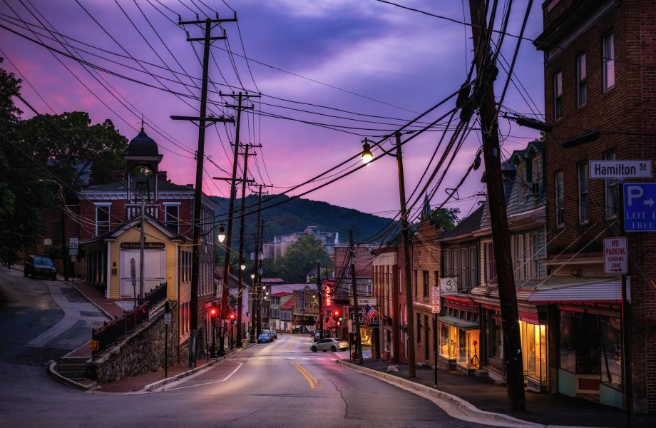 Pink Dawn, Ellicott City