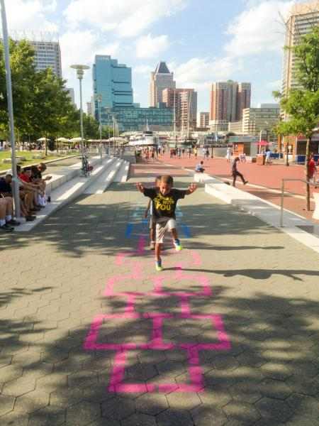 Harbor Hopscotch