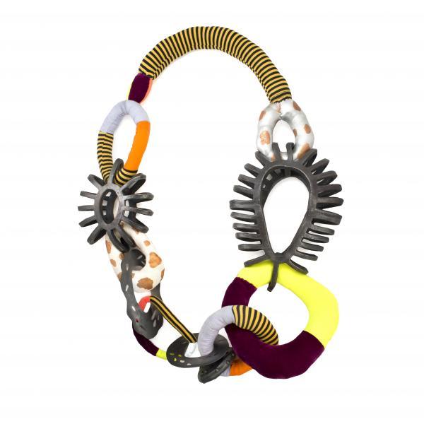 Gina Denton, Art Jewelry,  necklace, electroform