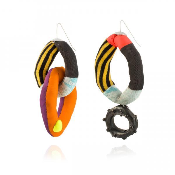 Gina Denton, Art Jewelry, earrings