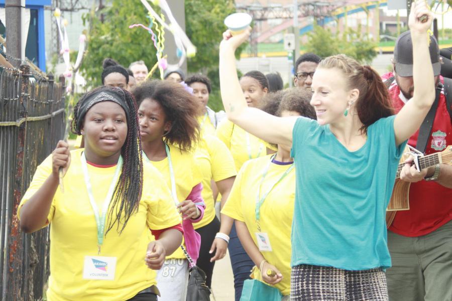 Yellow Shirt Volunteers