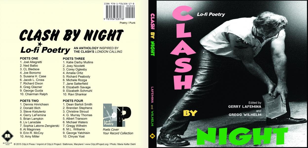 Clash By Night Cover (Design by Gregg Wilhelm)