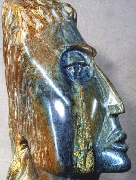 Crying Goddess by sculptor Alan Rhody