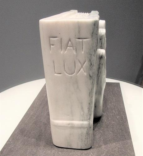 FIAT LUX by sculptor Alan Rhody