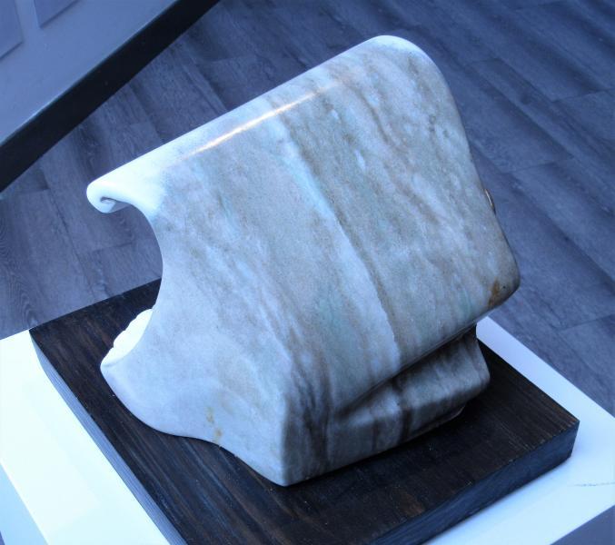 Tsunami by sculptor Alan Rhody