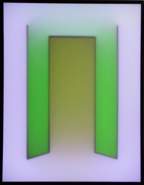 Entrance II - light painting
